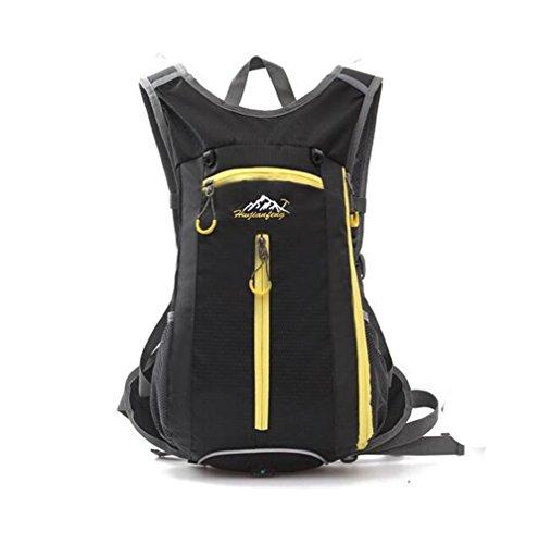 Wmshpeds Equitazione borsa a tracolla outdoor viaggi zaino moda pacchetto per il tempo libero H