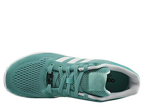 Homens Zx Fluxo Fechado Adidas Turquesa gfwS7Zq1n