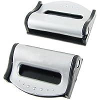 SODIAL (R) 2 Pz cintura di sicurezza cinghia di regolazione Gravidanza Cintura clip Set