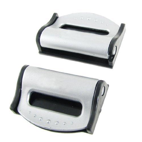 TOOGOO (R) 2 Pz cintura di sicurezza cinghia di regolazione Gravidanza Cintura clip Set