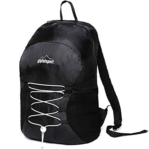 Leichter Faltbarer Rucksack | Größe 20L | schwarz - Samsonite Nylon-schulter-bag