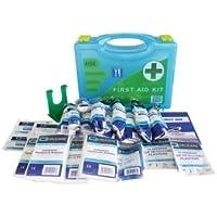 HSE Catering 10 Personen Premium Erste-Hilfe-Kit in Box mit Wandhalterung preisvergleich bei billige-tabletten.eu