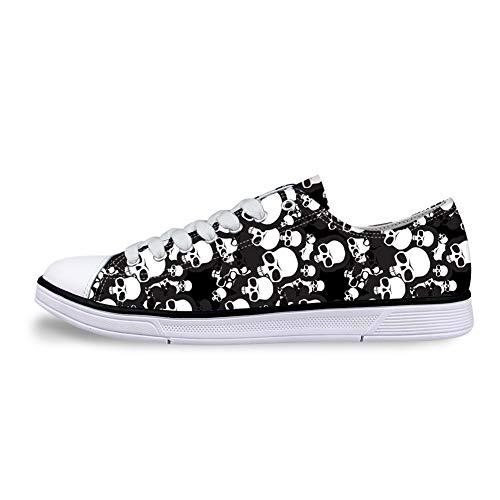 Flowerwalk - Zapatillas de Lona con Cordones para Hombre, diseño...