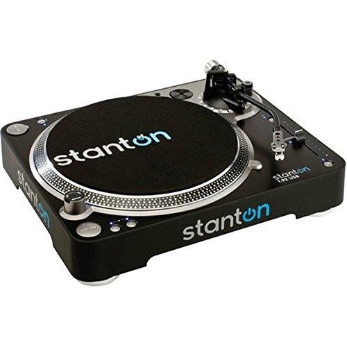 STANTON T92 USB - Giradischi Professionale a Trazione Diretta 33/45/78 Giri Braccio ADS Regolabile In Altezza