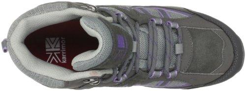 Karrimor - Snowdonia Mid Weathertite, Scarpe da escursionismo Donna grigio (Grau (Fog/Purple Dawn))
