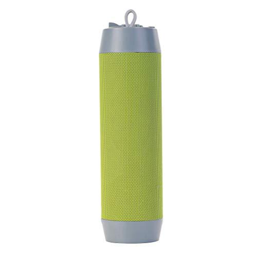 Hemobllo 5 in 1 Mini drahtlose Bluetooth Selfie Stick Halter stativ Bluetooth Lautsprecher Taschenlampe Pack Funktion Funktionelle Outdoor tragbare multifunktionale (grün) (Camaras Halter)