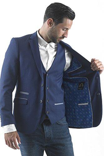 Marc Darcy - Blazer - Blazer - Uni - Homme Royal Blue Blazer