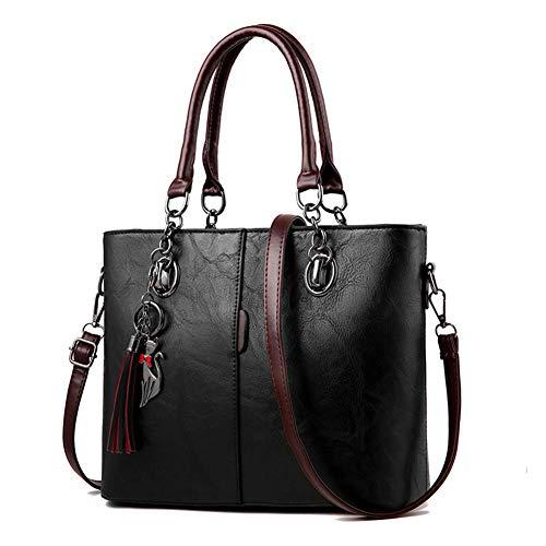 WERERFG Luxus Handtaschen Frauen Tasche Designer 2018 Große Damen Handtasche Für Frauen Feste Schultertasche Outlet Europa Leder Handtasche -
