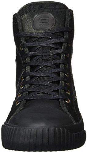 G-STAR RAW Campus Scott High, Sneakers Hautes Homme Noir (black 990)