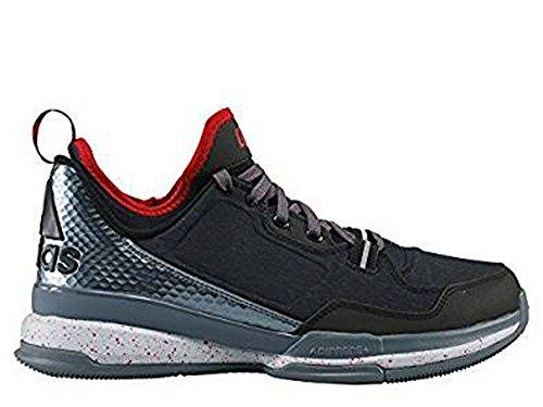 Adidas D Lillard uomo basketball scarpe basse nero rosso, nero Black