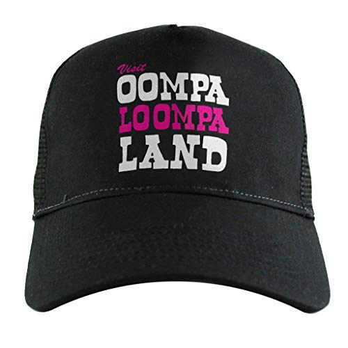 Willy Wonka Männer Kostüm - Cloud City 7 Charlie and The Chocolate Factory Oompa Loompa Land, Trucker Cap