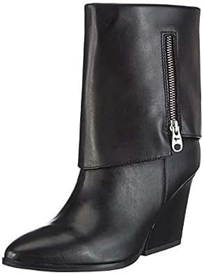 Tamaris Trend 25089, Chaussures montantes femme - Noir (Black 1), 36 EU