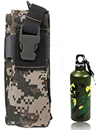 Military Waterproof High Density Strong Nylon Camouflage Radio / Kettle Waist Bag (Kettle Not Included)