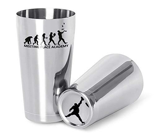 The bars Shaker Mixing Tin und Half Tin Bilancia-18/10 by Meeting Place Academy -