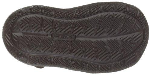 Crocs Swiftwater Mesh Sandal K Gpt/vgr, Spartiates mixte enfant Espresso/Khaki