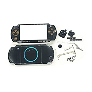 Zhhlinyuan Full Housing Faceplate Hard Case+Buttons+Screws Protector fur PSP 3000 Repair Part