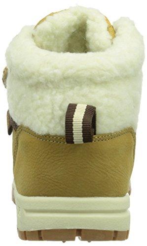 Kappa - Bright Mid Fur K Footwear Kids, Alte Scarpe Da Ginnastica infantile Beige (4143 Beige/offwhite)