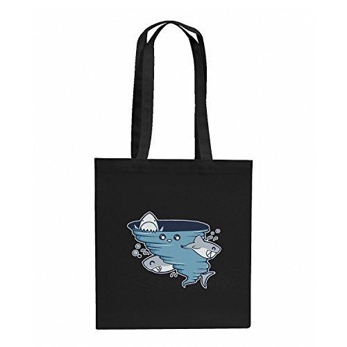 TEXLAB - Cute Shark Tornado - Stoffbeutel, - Tornado Kostüm