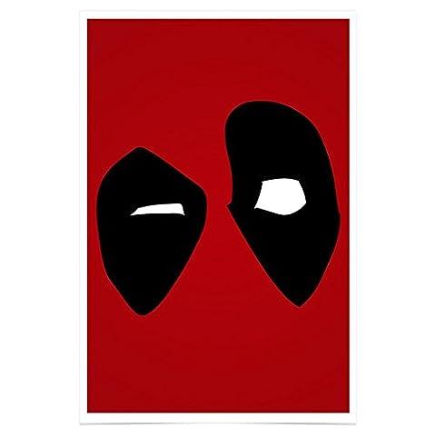 Jim Starks PH263A1 Deadpool Poster Premium Fotopapier 61 x 91,5 cm