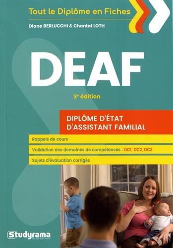 Diplôme d'Etat d'assistant familial DEAF