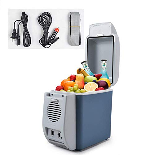 GUANHONG Refrigerador del Coche Mini refrigerador refrigerador del semiconductor Coche de 7.5L...