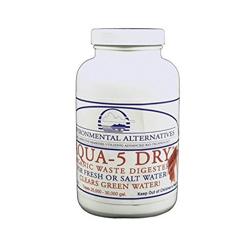 AQUA-5 DRY für 150.000 Ltr. Maxi Dose 280g Hochkonzentrierte Mikrobakterien (groß) -
