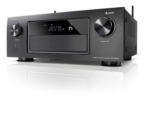 Preisvergleich Produktbild Denon AVRX4300HBKE2 Premium AV Surround-Receiver mit 9 Kanal-Endstufe und HEOS Integration (Amazon Music) schwarz
