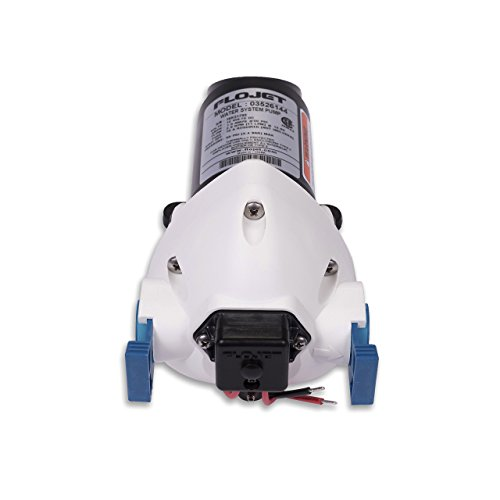 Flojet 03526–144A Triplex diaphragme automatique Pompe de système d'eau, 2.9GPM 50PSI, 12V DC