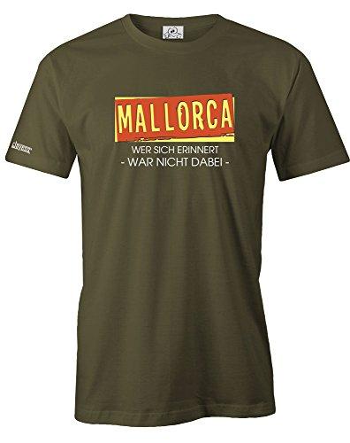 MALLORCA - WER SICH ERINNERT WAR NICHT DABEI - HERREN - T-SHIRT by Jayess Army
