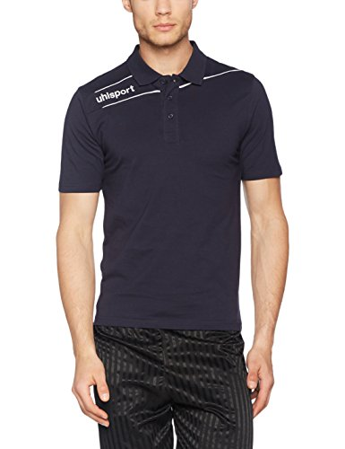 uhlsport Bekleidung Stream 3.0 Polo Shirt Marine/Weiß
