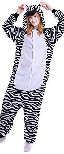 Everglamour Mono/Body Suit, Zebra,