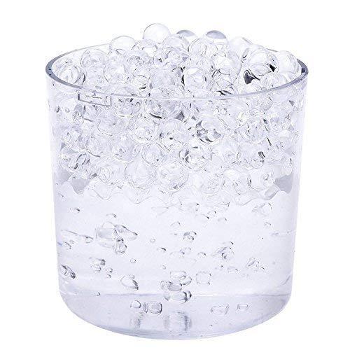 18641e1b1 Trimming Shop 20 paquetes de Transparente Aqua Agua Cristal Soil Gel Bio  Cuentas Boda Jarrón Pieza