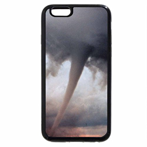 iPhone 6S / iPhone 6 Case (Black) Fierce Tornado