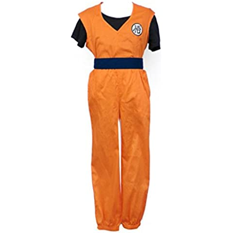 Dream2Reality - Disfraz de Dragon Ball Son Goku Para Cosplay para hombre, talla S