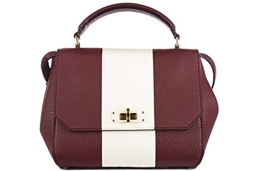bally-borsa-donna-a-mano-shopping-in-pelle-nuova-b-turn-xs-rosso