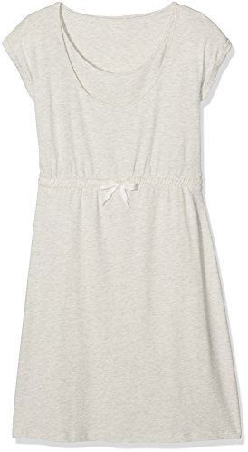 MAMALICIOUS Damen Umstandskleid Mlnew Peri Nell S Jersey Dress Nf A Grau (Light Grey Melange Detail:Ultra)