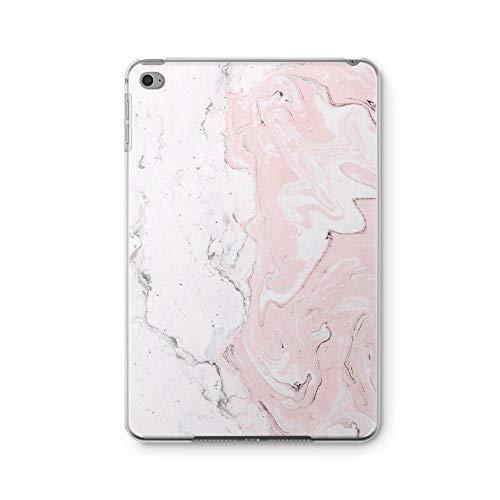 ZizzStore Schutzhülle für iPad (ultradünn, Kunststoff, TPU, transparente Rückseite, personalisierbar) Mehrfarbig Painted Pink Marble iPad Mini/Mini 2 / Mini 3 (Painted Skin 2)