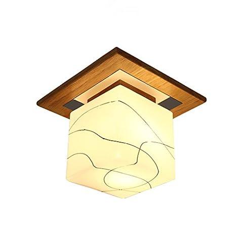 JIAHONG Modern simple drawing glass lamp hood ceiling lamp, high