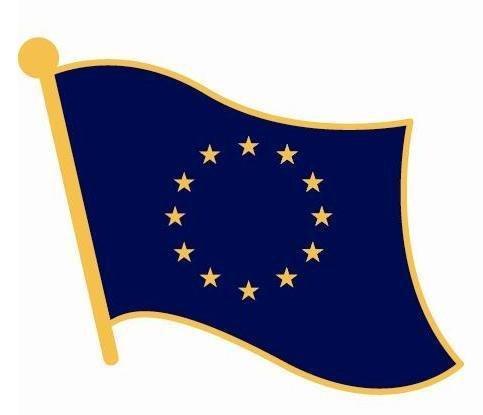 Europäischen Union Anstecknadel