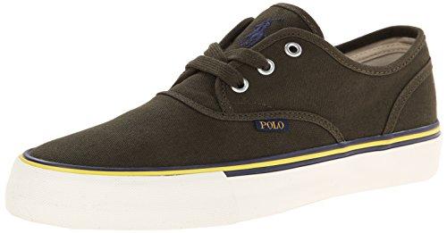 Polo Ralph Lauren Morray Canvas Fashion Sneaker Company Olive