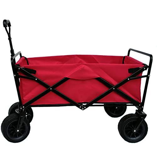 zhangxiaoli rollator Einkaufswagen/Mehrzweckgarten Utility Trolley/Folding Beach Outdoor Trolley/Camping Tragbare Werkzeugwagen/Home Allrad Einkaufswagen