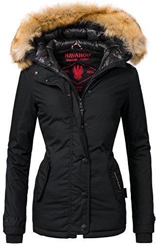 Navahoo Damen Winter Jacke Winterparka Laura 10 Farben XS-XXL