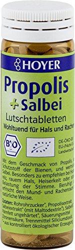 HOYER Propolis & Salbei Tabletten (3 x 30g)