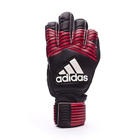 adidas Ace Fingersave Enfants - Gants de Gardien - Noir/Rouge/Blanc