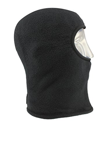 Seirus Innovation 2875 Polartec Winter Cold Weather Balaclava for Complete Head, Face, and Neck Protection,Small/Medium,Black -
