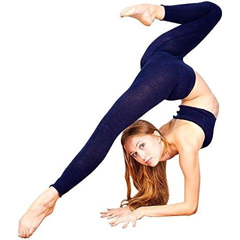 Vita alta KD Dance New York In tessuto elasticizzato lo Yoga, la danza &-Pantaloni da (Vita Alta Designer Jeans)