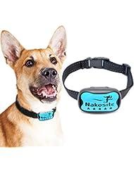 Nakosite DOG2433 Anti Bell Halsband für Kleine mittlere oder große Hunde, funktioniert einwandfrei, stoppt Das Bellen von Hunden