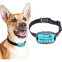 Nakosite DOG2433 Mejor Collar Antiladridos Perros para Pequeños medianos y grandes, Bark control collar. Utiliza sonidos y vibraciones audibles. SIN CHOQUES ELECTRICOS. 7 Niveles Ajustables de Sensibilidad. Correa de cuello de nylon flexible y ajustable para perros pequeños, medianos y grandes. BUENO COMPRA! Funciona bien! Nueva tecnología!