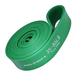 TOPELEK Fitness Bänder, Klimmzugband, Übungsschlaufenband, Widerstandsband mit Trainingsanleitung, für Klimmzüge, Kraftdreikampf, Yoga, Körperdehnung, Muskelaufbau