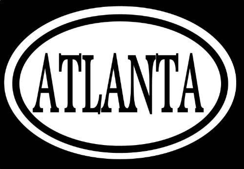 "Atlanta 6\"" Sticker Atlanta Rap Dirty South JDM Southern Georgia USA Bulldog Falcons *C642* Decal Vinyl Sticker for Cars, Trucks, Laptops, Fridge and More"